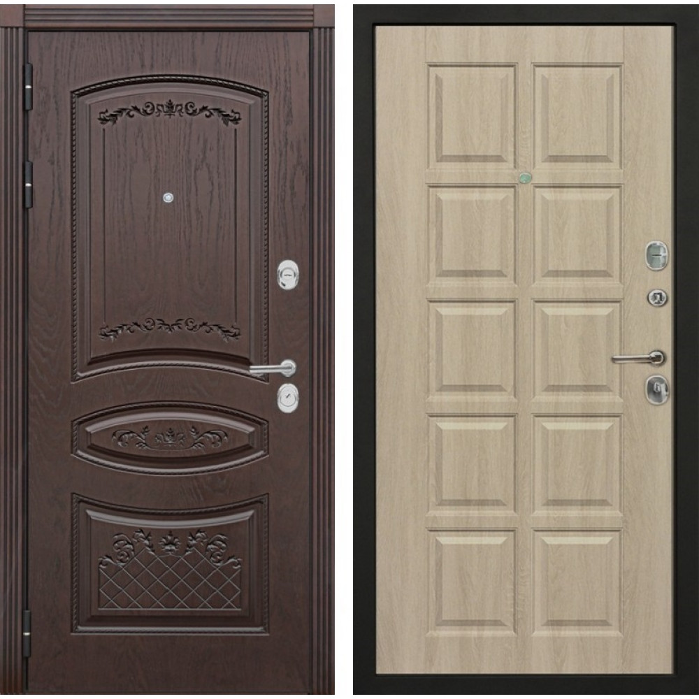 Входная металлическая дверь Мега 90