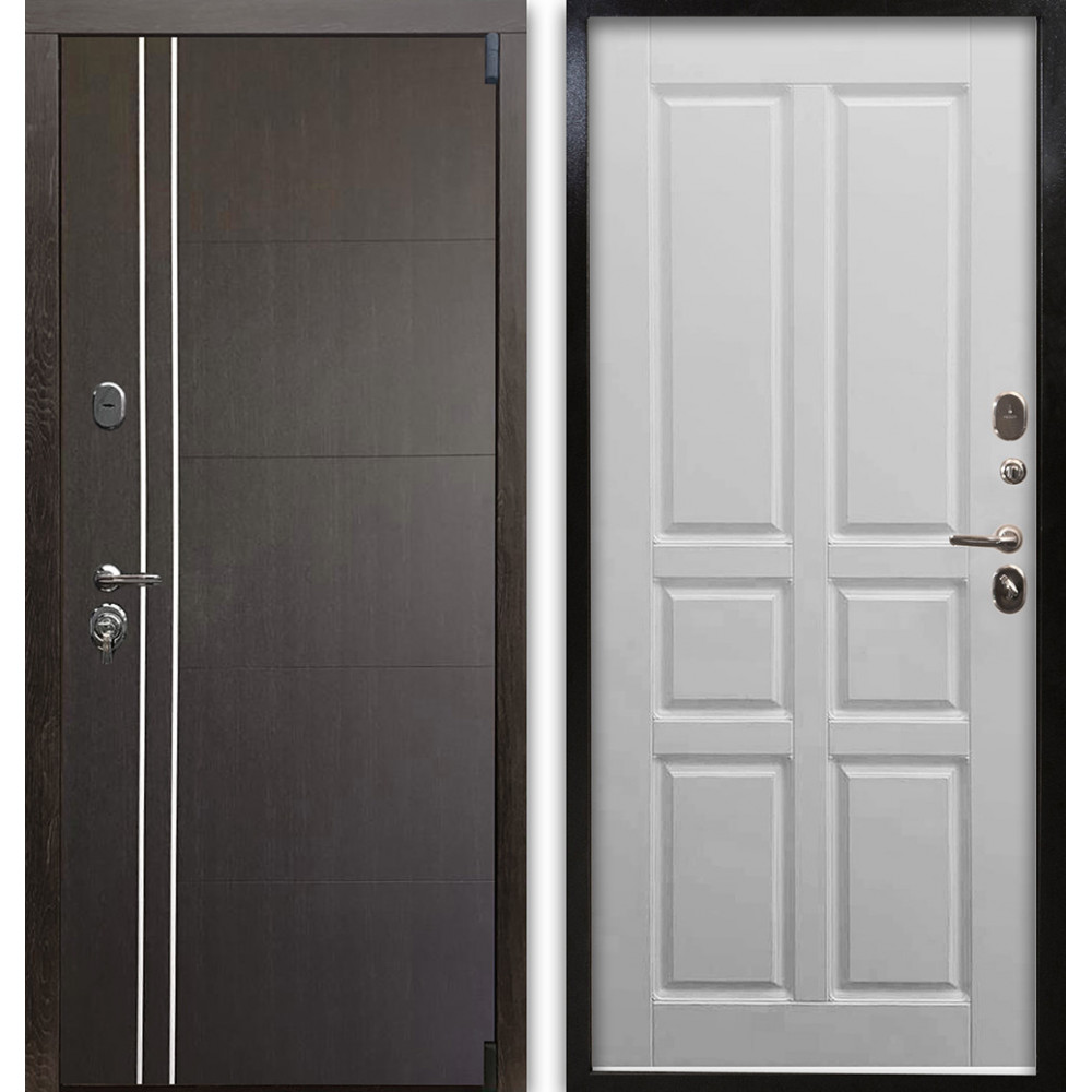 Входная металлическая дверь Люкс 76