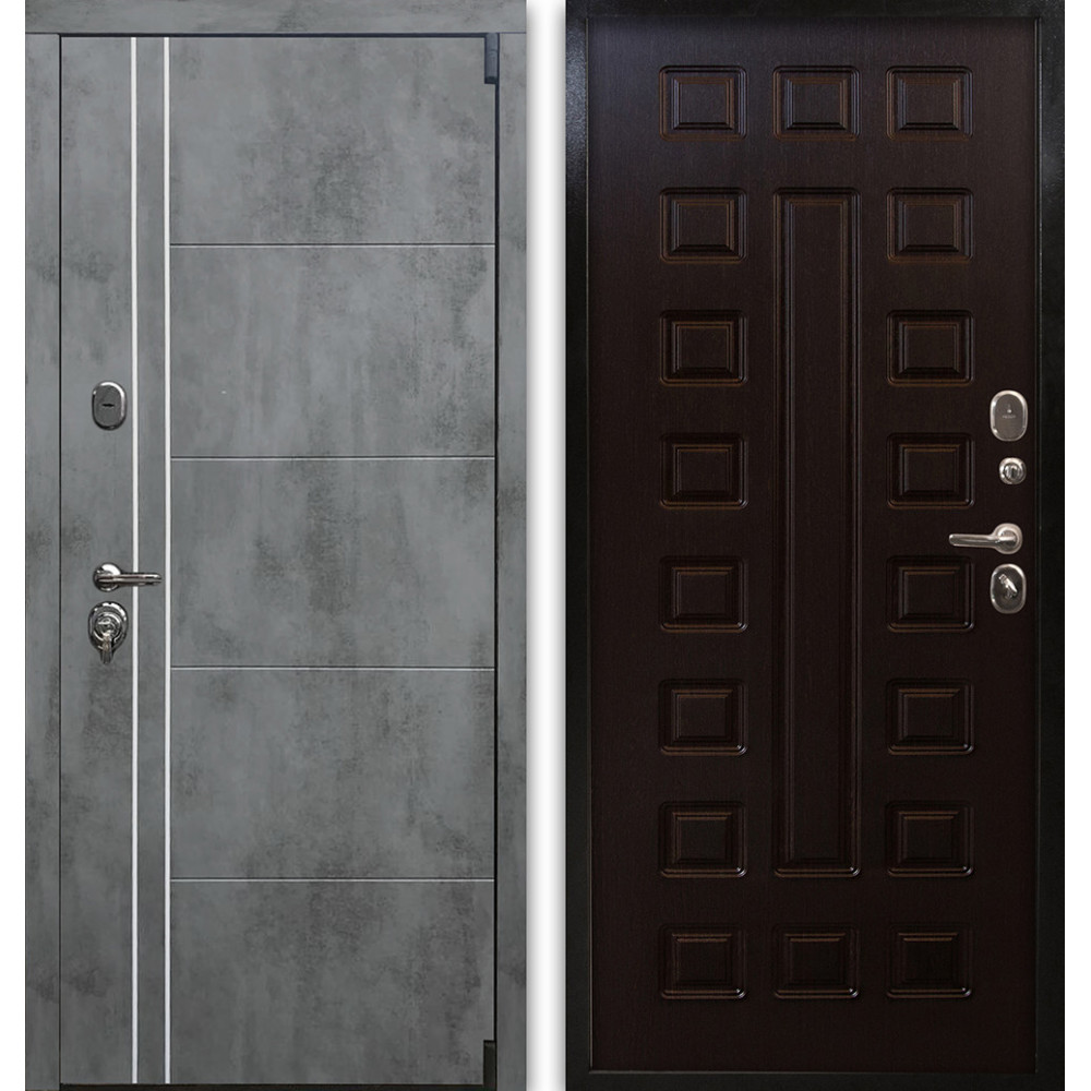Входная металлическая дверь Люкс 96