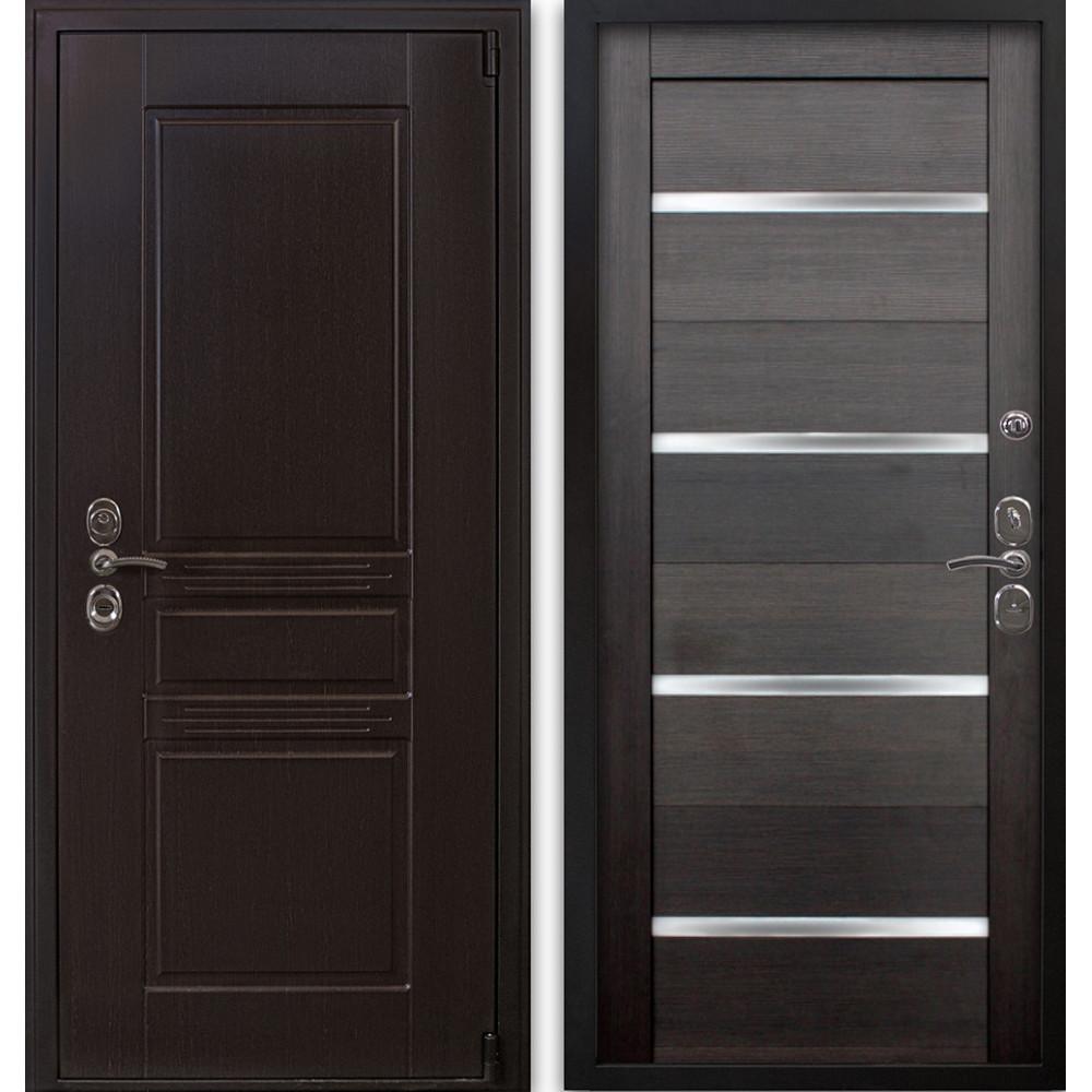 Входная металлическая дверь Люкс 123